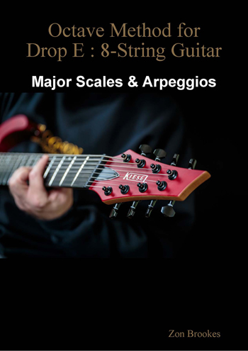 Octave Method for Drop E: 8-String Guitar eBook
